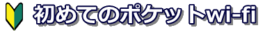 ポケットwi-fiが初心者でも失敗せずに選べるようになるサイト