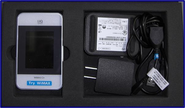 Try WiMAX 本体開封