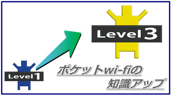 ポケットwi-fi 知識アップ